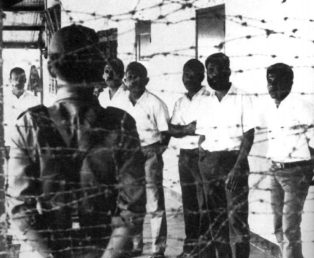 Detained West Papuan activists 1969