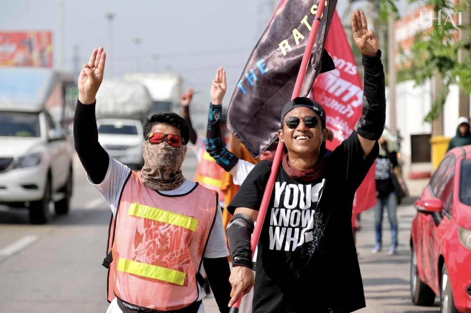 250-km pro-democracy protest march to reach Bangkok - Thai Enquirer